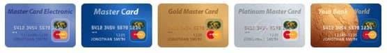 Оплата банковскими картами MasterCard в интернет-магазине Shop-Net.Ru