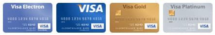 Оплата банковскими картами Visa в интернет-магазине Shop-Net.Ru