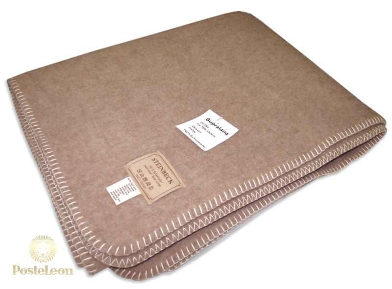 Одеяло шерстяное тканое