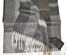 Шарф кашемировый Eccentric Dark Grey 30*180